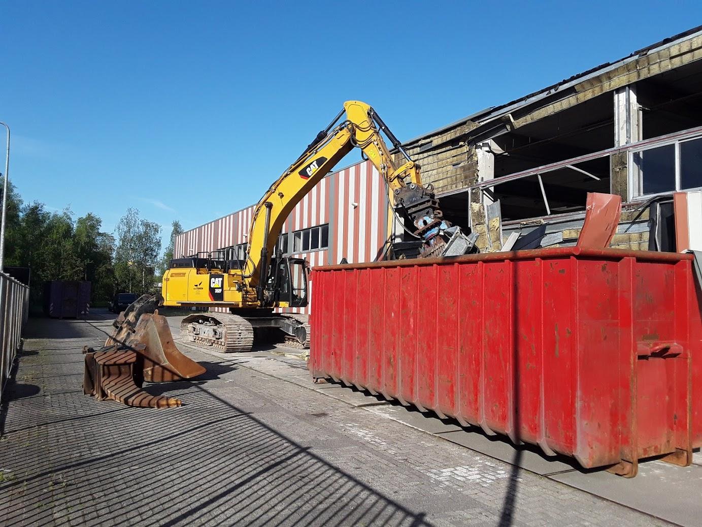 05/2018 Demolition Uithoorn, the Netherlands