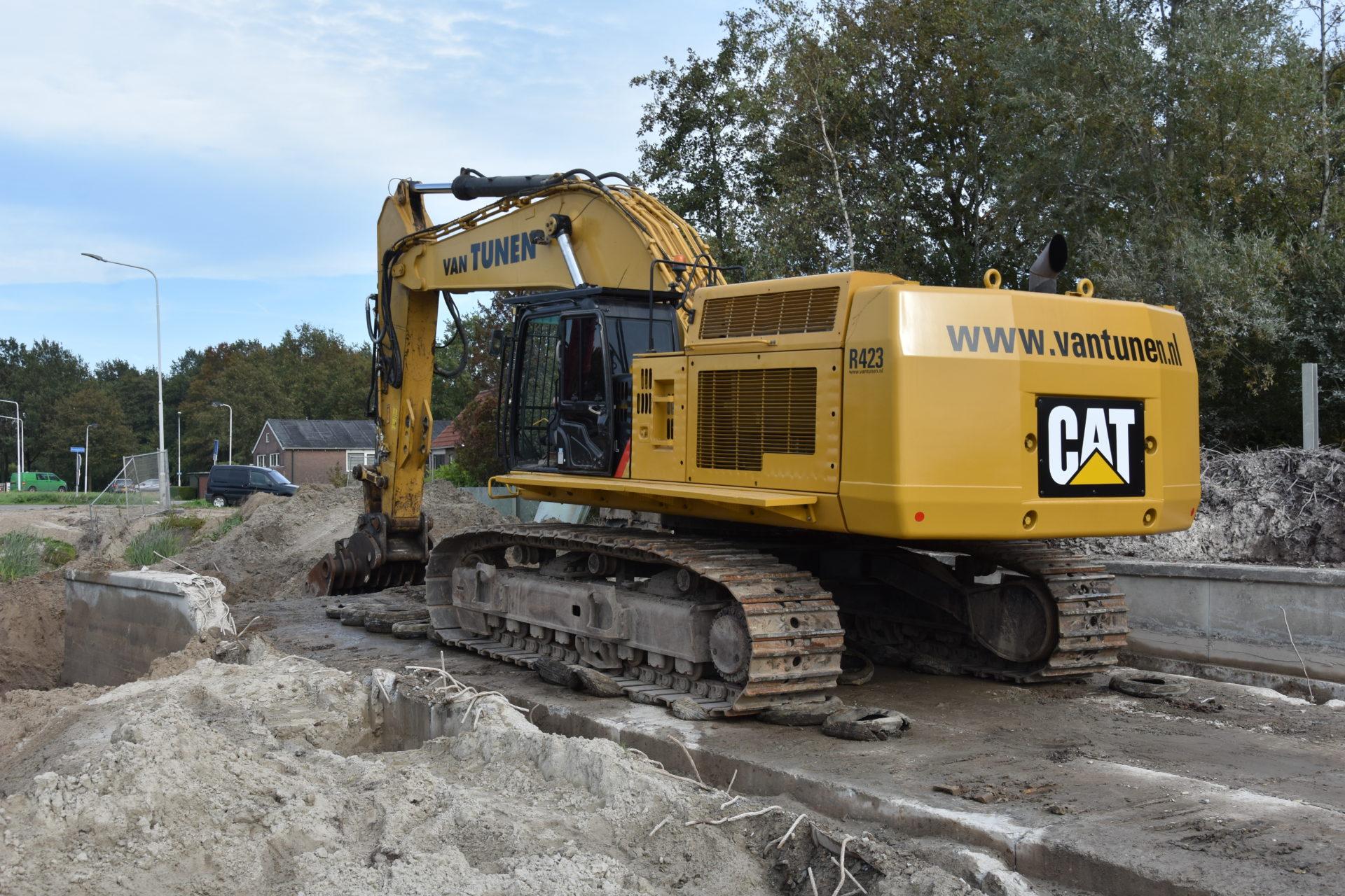 09/2018 Demolition project Joure, the Netherlands