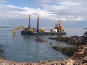 Van Tunen CAT390 Rock Ripping Aberdeen