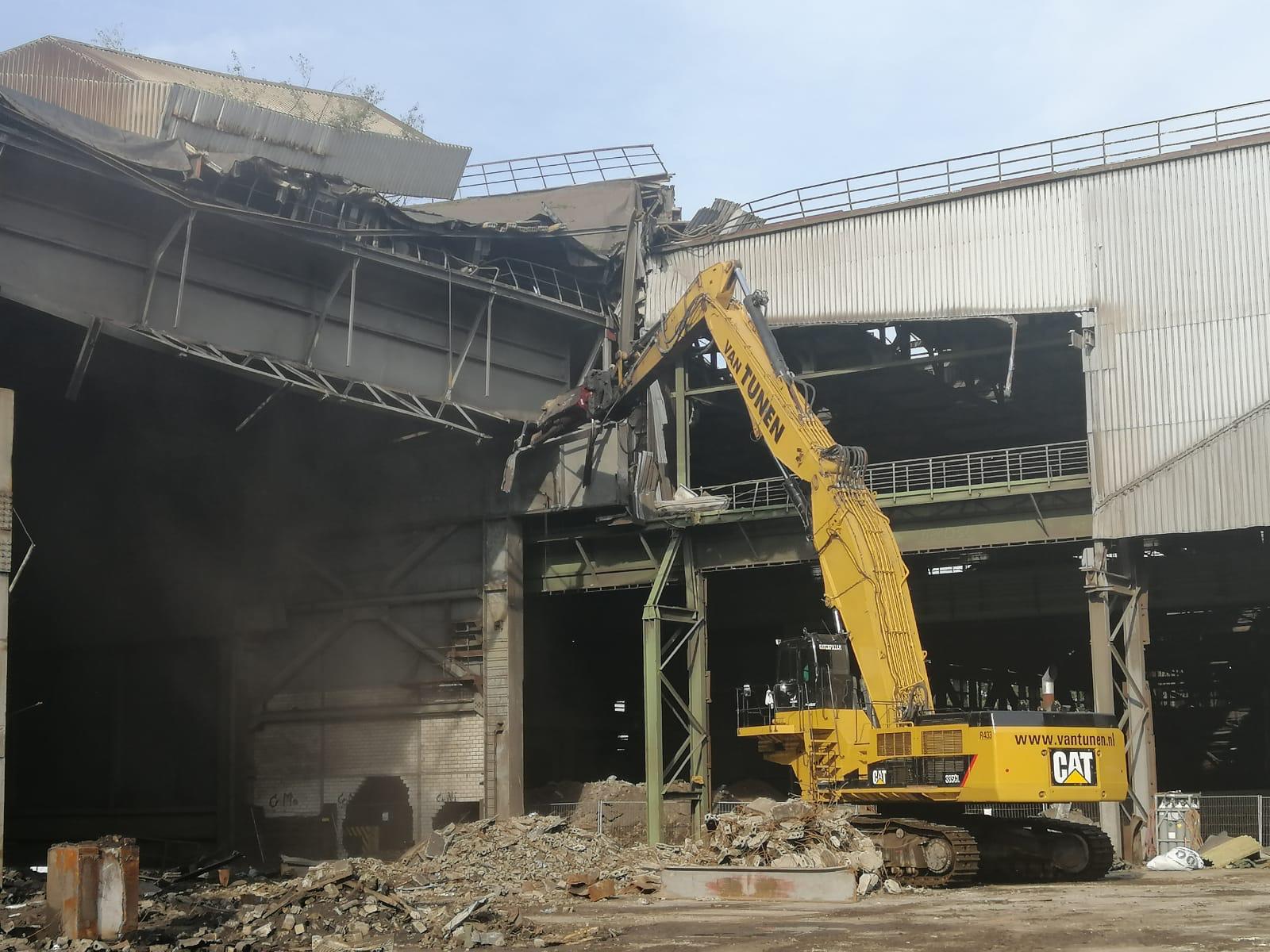 10/2019 Sloop fabriekshal in Sulzback-Rosenberg Duitsland voor Ferraro Group