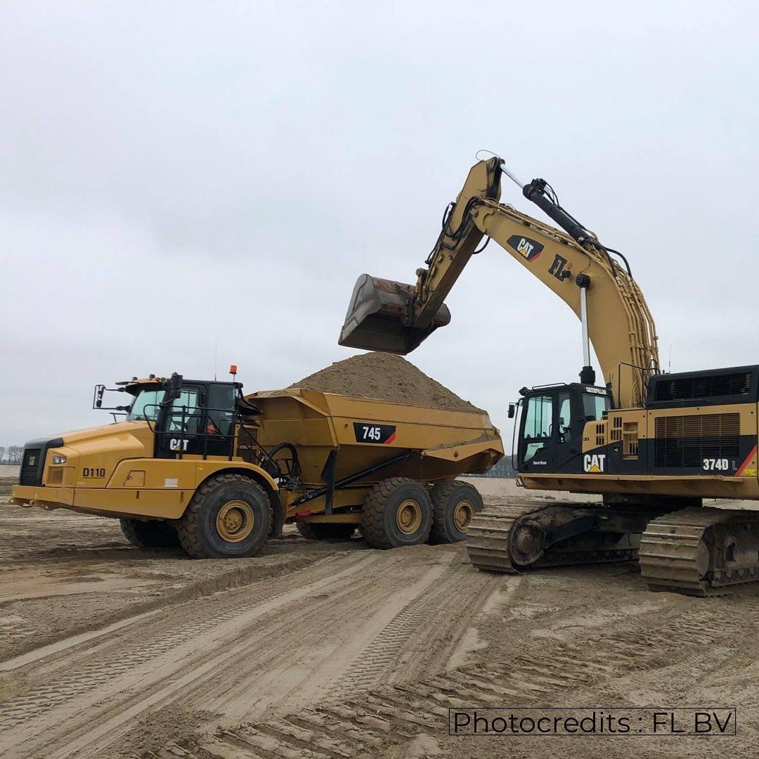 01/2021 : Assistance at Logistiek Park Moerdijk for FL BV