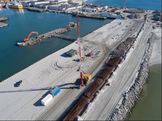01/2020 – Ground improvement Port of Skagen Denmark