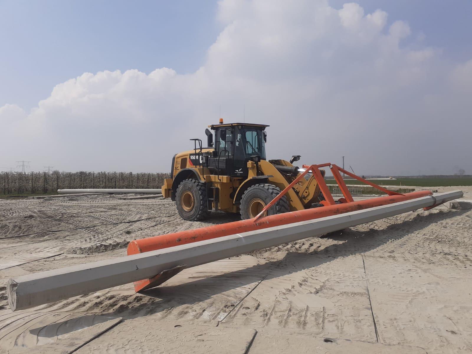 03/2021 : Weelloader assistance in the Nederland